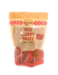 Thai Taste Red Curry Paste [Resealable Pouch] | Buy Online at the Asian Cookshop